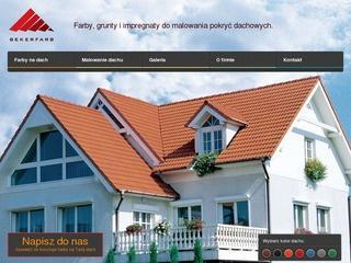 Renowacyjna farba – sposób na naprawienie dach
