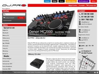 Nowoczesny mixer i inne sprzęty dla DJ-a: zamów